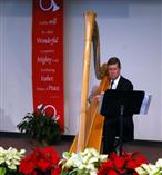 Harpist Rev William Reister